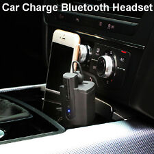 Wireless Bluetooth4.0 Car Charger Earphone Headset Stereo For iphone Samsung