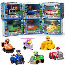 Paw Patrol Toy Action Figure Doll Racer Car Kids Baby Christmas Xmas Gifts 6PCS