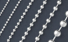925 Solid Silver BALL Chain Necklace/Bracelet-Italian 925 Solid Sterling Silver