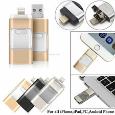 i Flash Drive USB Memory Stick HD U Disk 3 in 1 for Android/IOS iPhone PC