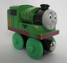 Percy the Tank Engine (RARE double axel) Wooden Toy from Thomas & Friends