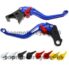 FXCNC CNC Blue 3D Brake Clutch Hollow Lever For Suzuki GSXR 92-93 600 89-95 750