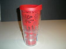 Tervis Vintage Holiday Pattern Wrap  24oz Tumbler w/Lid Hot & Cold New !