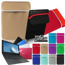 "Sleeve case Bag Pouch For 15.6"" ASUS ZenBook VivoBook Chromebook Laptop Notebook"