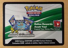 Pokemon XY TCG Online Code Cards Virtual 20