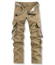 cHIC Mens Military Trousers overalls Army Cargo Combat Work Casual Pants Size 38