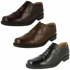 Mens Clarks Formal Leather Shoes Bravo Man