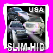 SLIM 9145 9045 9140 H10 HID Driving Fog Light Kit 4300K 6000K 8000K 10000K @