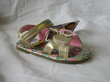 GIRLS DORA THE EXPLORER GOLD SANDALS