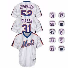 New York Mets MAJESTIC Alternate Classic Throwback Cool Base Jersey Men's