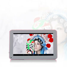 "N98 9"" Android 4.4 1.2GHz Tablet PC Quad Core 1GB+16GB AU Plug Blue/Pink Gift"