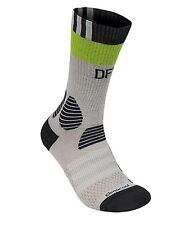 Adidas Men Germany DFB Training Socks Soccer Pairs Grey Ankle Sock GYM AH5749