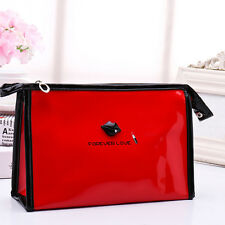 Travel Cosmetic Bag Multifunction Makeup Bag Pouch Toiletry Case with Hand Strap