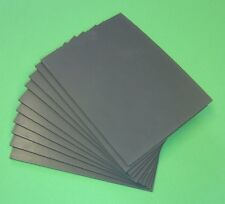 Lino Tiles Extra Soft Grey 3mm Thick Block Printing 5 sizes