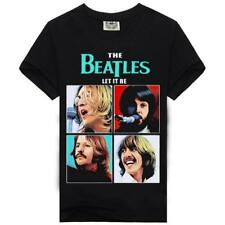100% Cotton Men's Unisex Women's The Beatles Short Sleeves Casual T-Shirt/Top