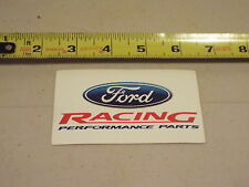 QTY (2) FORD RACING PERFORMANCE PARTS DECAL M-1820-A1 GENUINE OEM