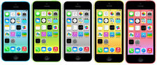Apple iPhone 5c/5/4S 8-16-32-64GB GSM Unlocked Smartphone Certified Ref GOON