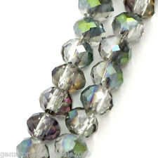 """Wholesale W09 Strands Crystal Glass Loose Beads AB Color 4mmx3mm(1/8""""x1/8"""")"""