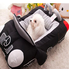 Pet Dog Bed Warming House Soft Material Nest Fall Winter Warm Kennel Cat Puppy