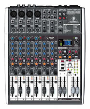 Behringer X1204USB 12-Channel USB Mixer w/ Effects & Phantom-Powered Mic Preamp