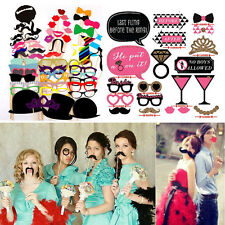 Photo Booth Photobooth Wedding Props Moustache On A Stick Party Prop DIY Masks