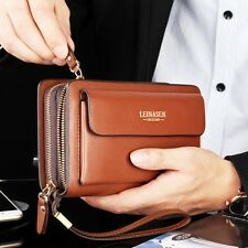 Business Men Wallet Male Purse Brand Mens Clutch Purses Bag Luxury Card Holder