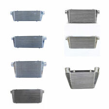 "Bar And Plate Universal Front Mount Black Silver Intercooler / Kits 2.25"" to 3"""