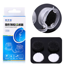 Nasal Nose Filters Air Pollution Dust Pollen Allergy Fever Allergens Relief Mask