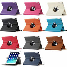 New 360 Rotating Smart Leather Case Cover with stand for Apple iPad 2 3 4 USA