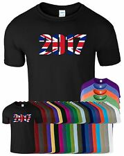 HAPPY NEW YEAR 2017 Union Jack Mens Womens T-Shirt New Year Celebration T Shirt