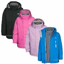 Trespass PRIME Kids Girls Boys Waterproof Winter 3in1 Fleece and Jacket