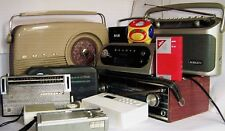 VINTAGE & RETRO PORTABLE RADIOS ~ click on - SELECT - to browse or order