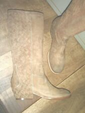 ASH LOBO leather suede camel NEW heel 4cm Val E Sizes 36,38,39,40
