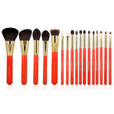 High Quality Professional Soft Goat Hair 17pcs Makeup Brushes Set Cosmetic Tools