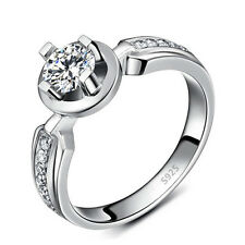 Pinched Exquisite Women's S925 Silver Plated Fashion Ring with CZ Pave Settings!