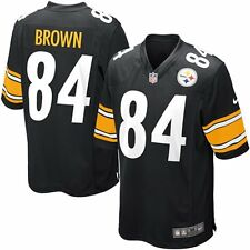 Antonio Brown Pittsburgh Steelers  Youth Game Jersey  Black By Nike