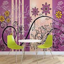 WALL MURAL PHOTO WALLPAPER XXL Flowers Floral (1268WS)