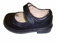 New Infant Toddler Girl's Black Mary Jane Dress School Shoes  size: 5-10