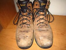 Chippewa Men's Size 10  Steel Toe Leather Work Boots - Ton of Life Remaining