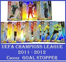 Choose Adrenalyn XL 2011/12 UEFA Champions League 2012 GOAL STOPPER 11 12 Cards