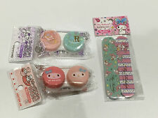 Adorable Sanrio Contact Lens Case & Nail File Pack NEW Japan My Melody