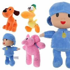 Hot ! Pocoyo Elly Pato Loula Plush Character Figures Stuffed Toys Doll Kid Gift
