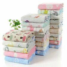 6 Layers Newborn Baby Infant Swaddling Bedding Blanket Swaddle Wrap Bath Towel