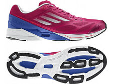 New Womens adidas adiZero Feather 2.0 Running Shoes Pink/Blue Retail $115 G61969