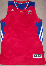 "NEW Mens adidas 2013 NBA West Division All Star Game Jersey Size L +2"" MSRP $100"