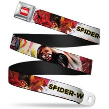 Marvel Comics Comic Book Superheroes Spider-Woman Seatbelt Belt