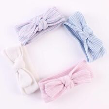 Infant Turban Girls Newborn Baby Hairbands Hospital Headbands Bowknot