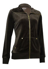 Style & Co. Women's Pouch-Pocket Solid Velour Jacket