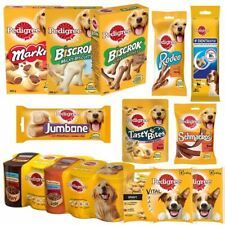 Pedigree   Selection of Dog Food / Treats   Biscuits Chews Pouches   Adult Dog