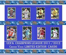 Choose Adrenalyn XL 2011/2012 UEFA Champions League 11 12 LIMITED EDITION Cards